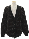 Mens Totally 80s Look Cardigan Cosby Style Sweater
