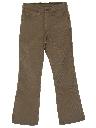 Unisex Levis 517 Bootcut Flared Corduroy Jeans Pants