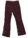 Unisex Hip Hugger Custom Boutique Style Bellbottom Denim Jeans Pants