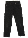 Mens Grunge Levis 505 Straight Leg Denim Jeans Pants