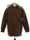 Mens Leather Coat Jacket