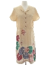 Womens Hawaiian Style Day Dress