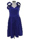 Womens Totally 80s Prom Dress