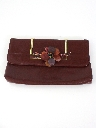 Womens Accessories - Leather Clutch Purse
