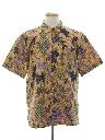 Mens Batik Print Shirt