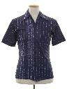 Mens Print Disco Shirt