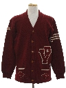 Mens Letterman Sweater