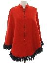 Womens Mod Poncho Jacket