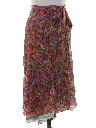 Womens Hippie Wrap Skirt