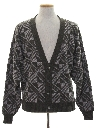 Mens Totally 80s Cardigan Cosby Style Sweater
