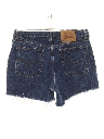Womens Highwaisted Denim Jeans Cut Off Shorts