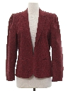 Womens Totally 80s Boyfriend Style Blazer Sport Coat Jacket