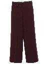 Womens Flared High Waisted Knit Pants