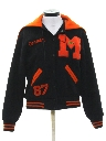 Womens Wool Letterman Jacket