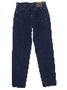 Womens Levis 560 Relaxed Straight Leg Denim Jeans Pants