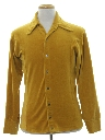 Mens Mod Velour Shirt