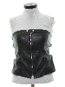 Womens Wicked 90s Style Leather Shirt
