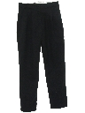 Womens Pleated Tapered Knit Pants