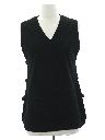 Womens Mod Knit Shirt Vest