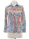 Womens Print Disco Shirt