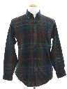 Mens Preppy Pendleton Wool Shirt