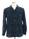 Mens Pendleton Wool Board Style Sport Shirt