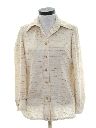 Womens Mod Knit Shirt-jac Shirt