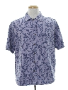 Mens Rayon Hawaiian Style Sport Shirt