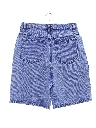 Womens Designer Totally 80s High Waist Acid Washed Denim Shorts