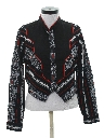 Womens Totally 80s Style Western Shirt