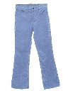 Unisex Levis 517 Slight Bootcut Flared Corduroy Jeans Pants