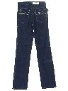 Unisex Slight Bootcut Flared Denim Jeans Pants