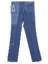 Mens Slight Bootcut Flared Denim Jeans Pants