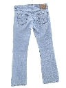 Unisex Grunge Bootcut Flared Leg Denim Jeans Pants