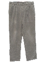 Mens Totally 80s Style Baggy Pleated Corduroy Pants