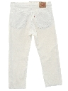 Mens Corduroy Jeans Cut Pants