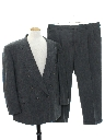 Mens Totally 80s Swing Style Tuxedo Suit