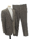 Mens Mod Wool Suit