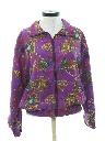 Womens Oversized Wicked 90s Hip Hop Windbreaker Jacket
