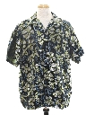 Mens Club Style Hawaiian Sport Shirt