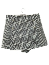 Womens Totally 80s Skort Skirt Shorts