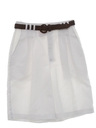 Womens Totally 80s High Waisted Pleated Shorts