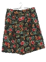 Womens Totally 80s Rayon High Waisted Culottes Shorts