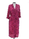 Womens Totally 80s Disco Style Secretary Dress