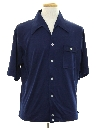 Mens Mod Shirtjac Style Sport Shirt