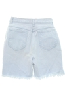 Womens High Waisted Denim Cutoff Shorts