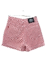 Womens Wicked 90s High Waisted Plaid Shorts