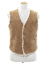 Mens Hippie Suede Leather Vest