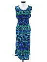 Womens A-Line Maxi Sun Dress