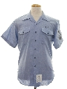 Mens Navy Issued Shirt